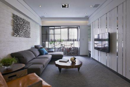 室內設計-悠閒自然風:大直典藏林公館